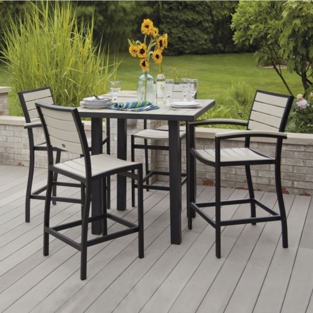 Good Patio Tall Table And Chairs Ideas