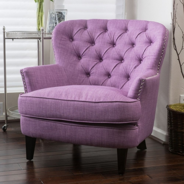 Good Purple Accent Chairs Sale Pic