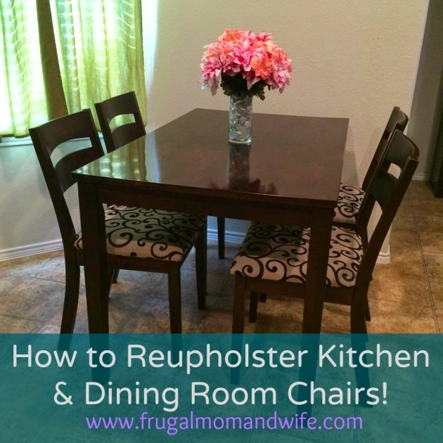 Good Reupholster Kitchen Chair Images