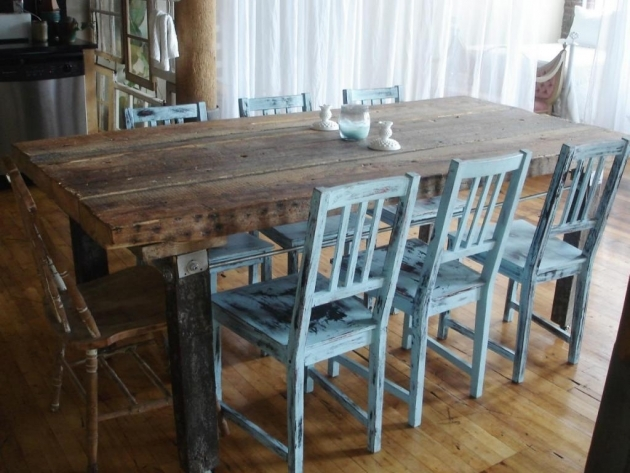 Good Rustic Kitchen Tables And Chairs Photos