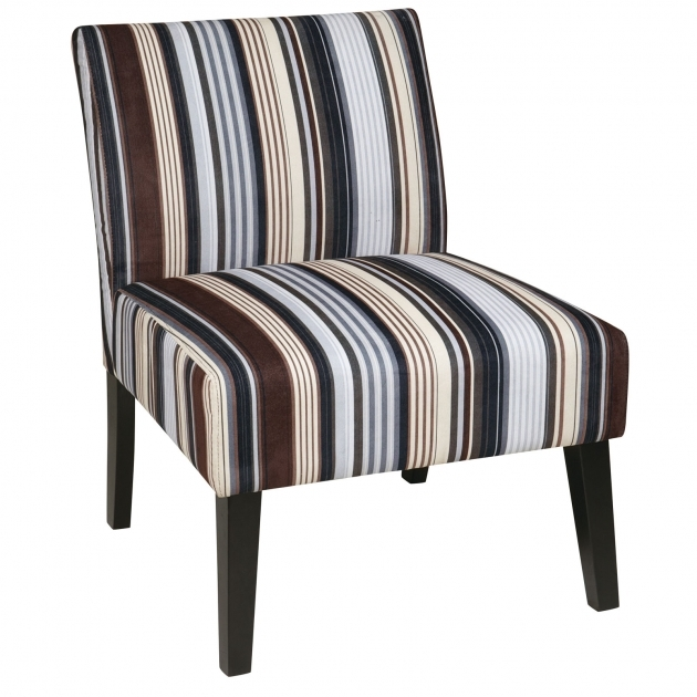 Good Striped Accent Chairs Photo