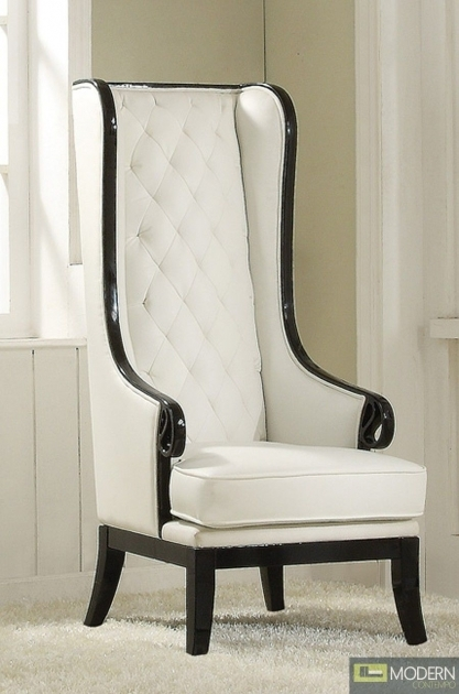 Good Tall Back Accent Chairs Pic