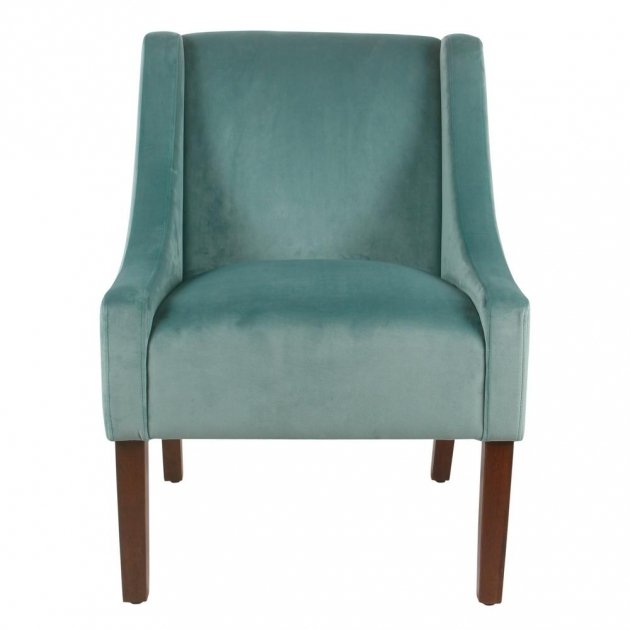 Gorgeous Aqua Accent Chair Photo