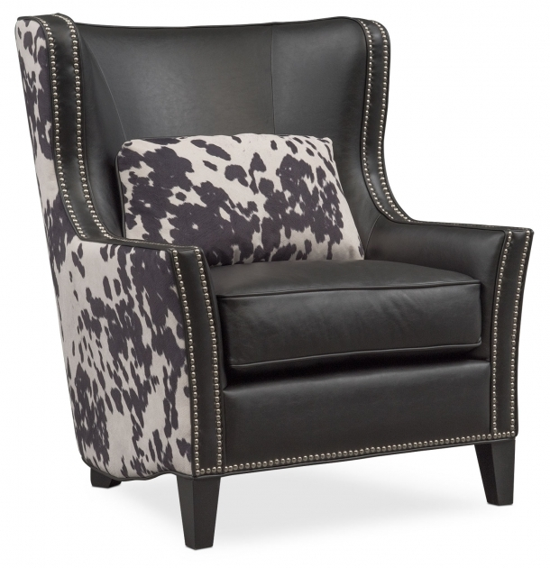 Gorgeous Cowhide Accent Chair Picture