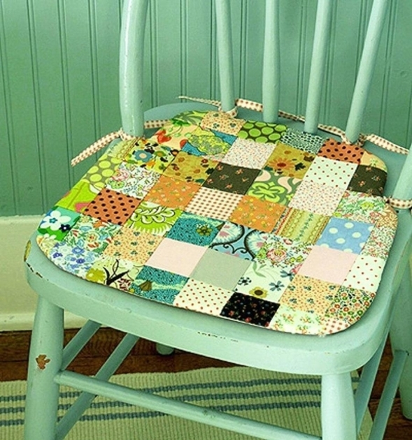 Gorgeous Kitchen Chair Pads With Ties Images