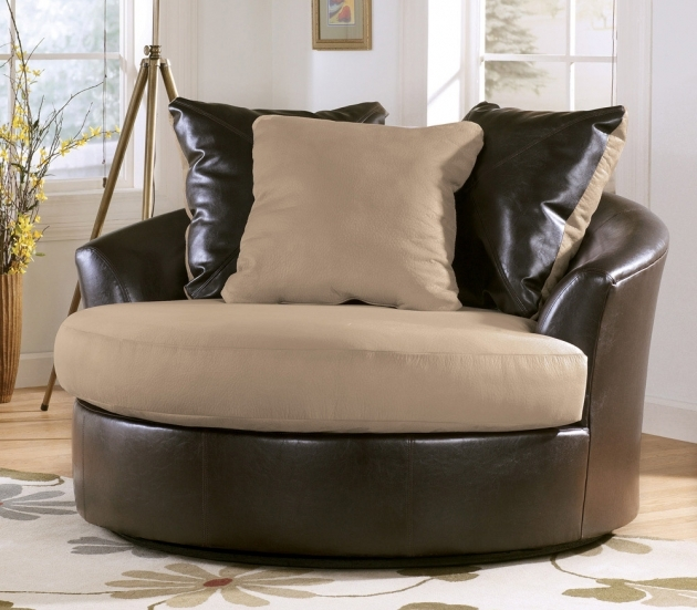 Gorgeous Round Swivel Accent Chair Images