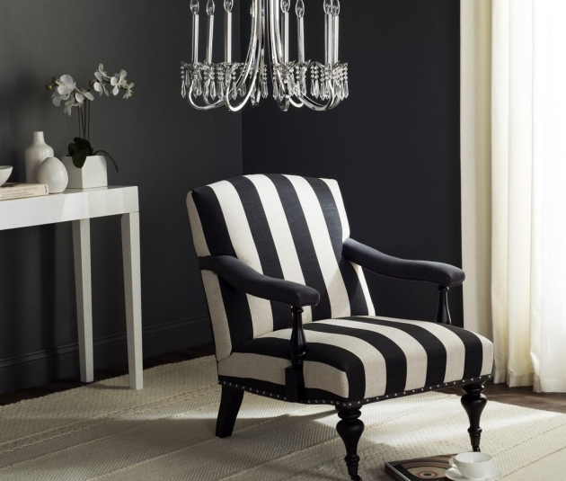 Gorgeous Striped Accent Chairs Pics