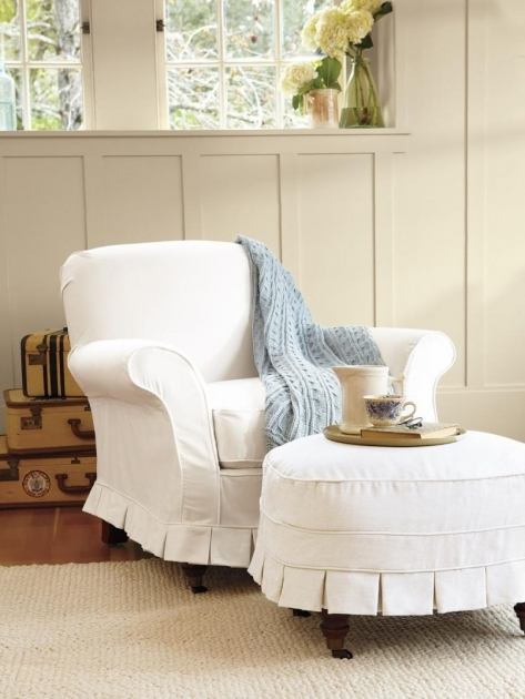 Great Accent Chair Slipcover Pictures