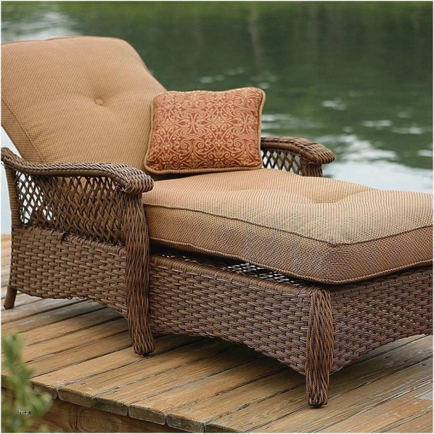 Great Patio Chair With Hidden Ottoman Photo