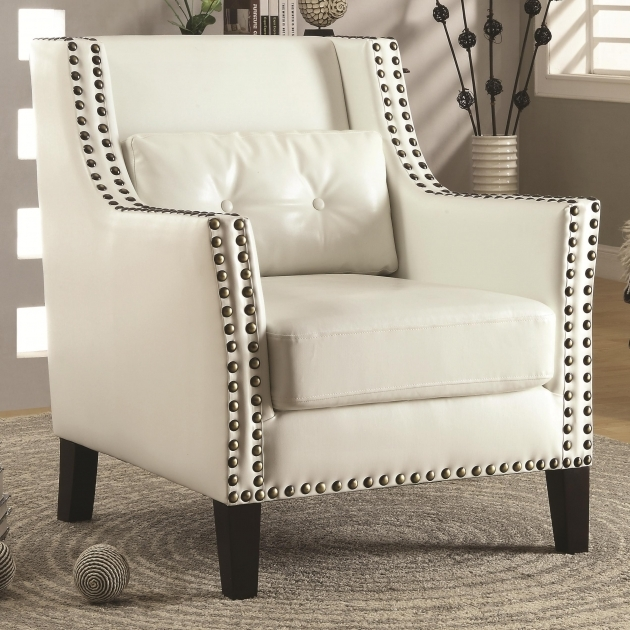 Great Studded Accent Chair Image