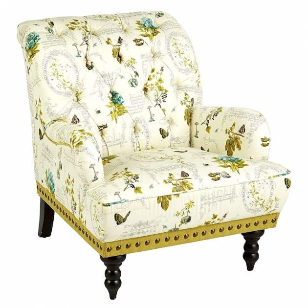 Great Yellow And White Accent Chairs Ideas