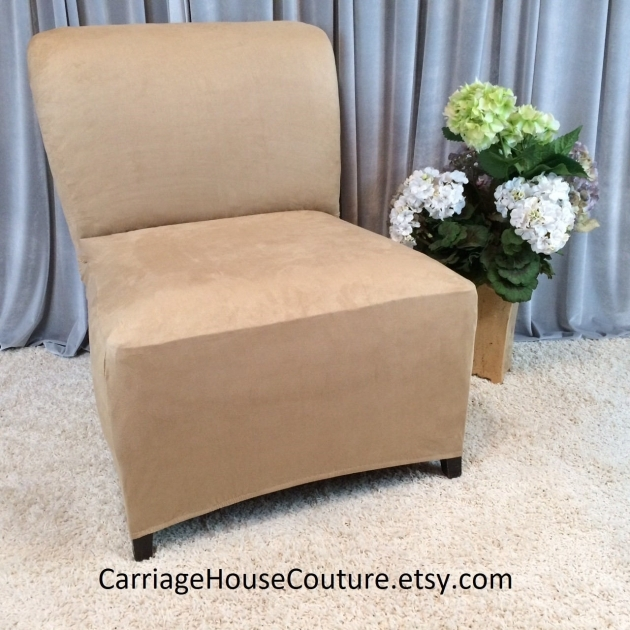 Incredible Armless Accent Chair Slipcover Pics