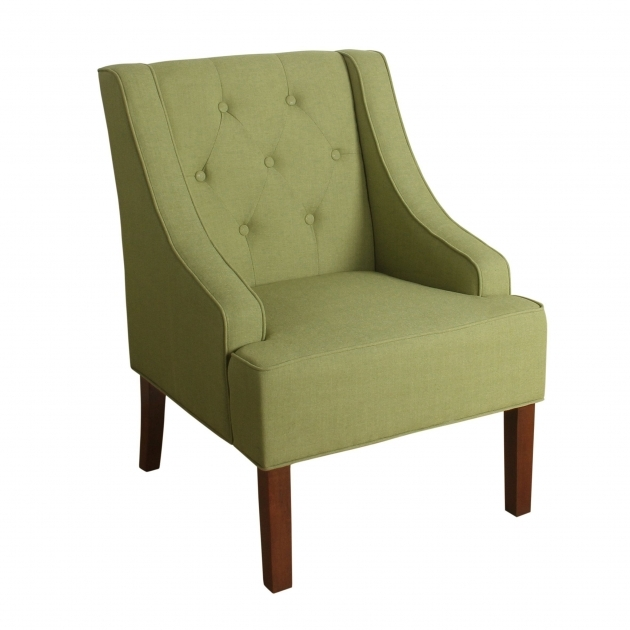 Incredible Green Accent Chair With Arms Image