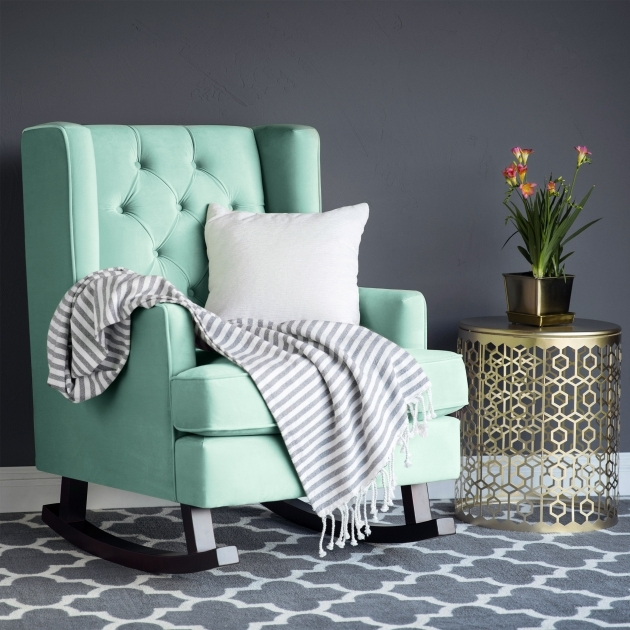 Incredible Mint Accent Chair Photo