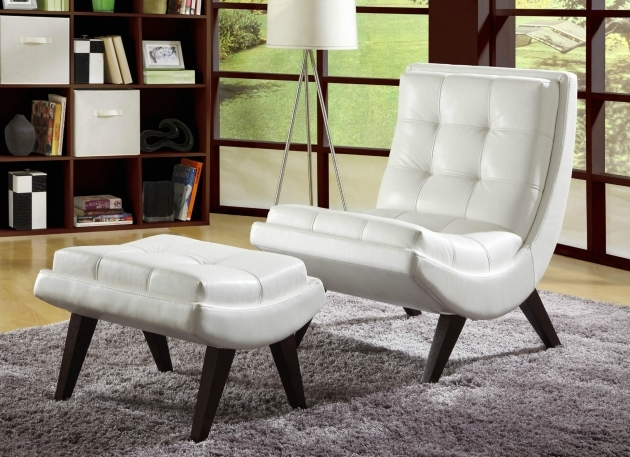 Incredible White Tufted Accent Chair Picture