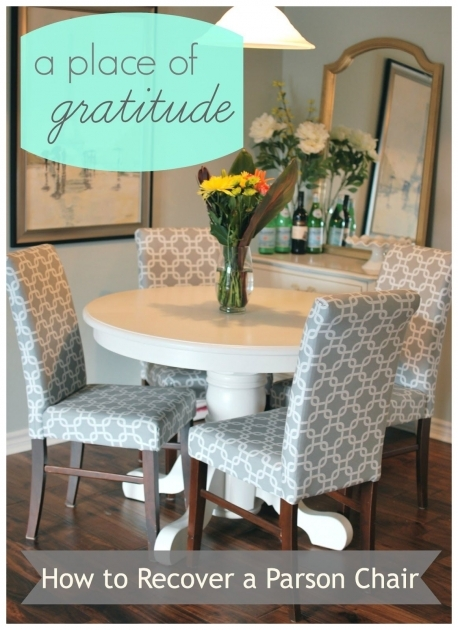 Inspiring How To Reupholster Kitchen Chairs Image