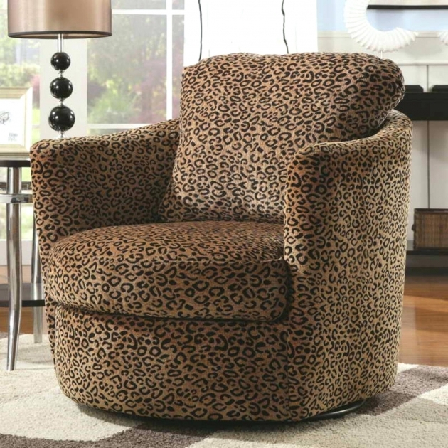 Inspiring Round Swivel Accent Chair Picture