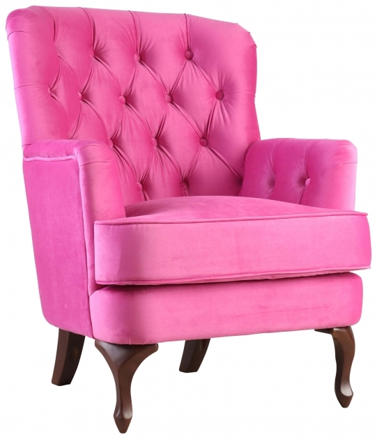 Interesting Fuschia Accent Chair Pics