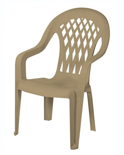 Interesting High Back Plastic Patio Chairs Photo