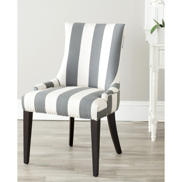 Interesting Striped Accent Chairs Image