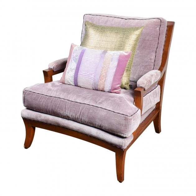 Luxurious Fuschia Accent Chair Photos