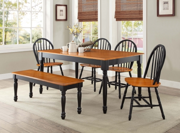 Luxurious Kitchen Table And Chairs With Wheels Photo