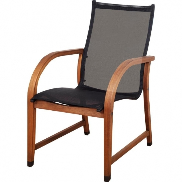 Luxurious Sling Stacking Patio Chairs Pic