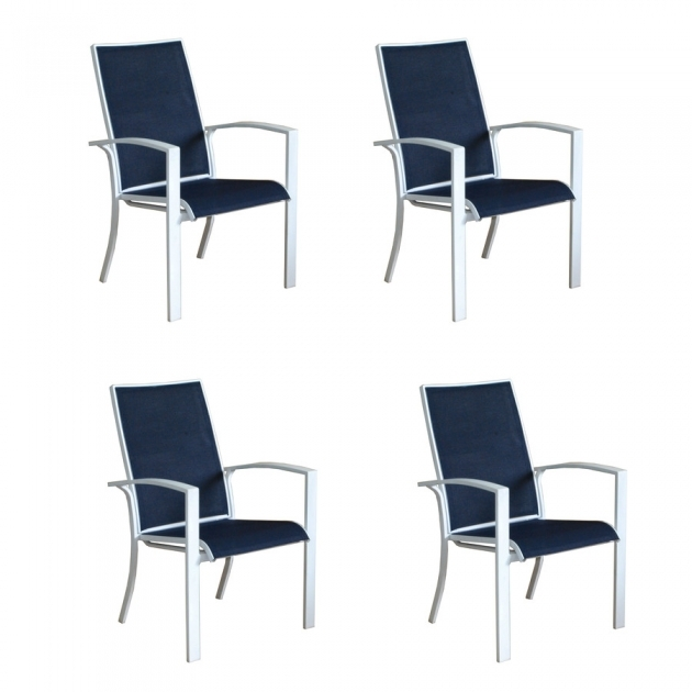 Luxurious Stackable Sling Patio Chairs Images