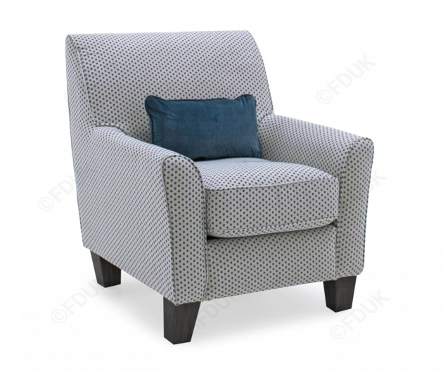 Luxurious Studded Accent Chair Photo