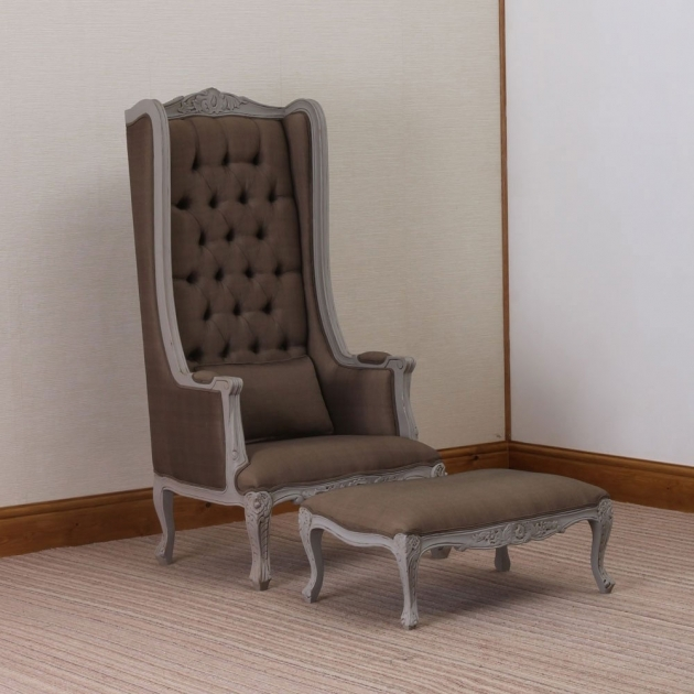 Luxurious Tall Back Accent Chairs Picture