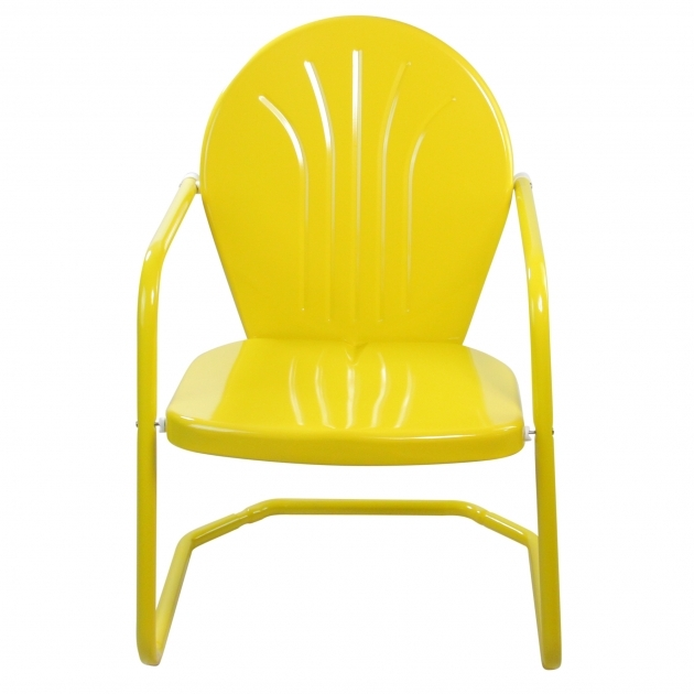 Luxurious Yellow Patio Chairs Ideas