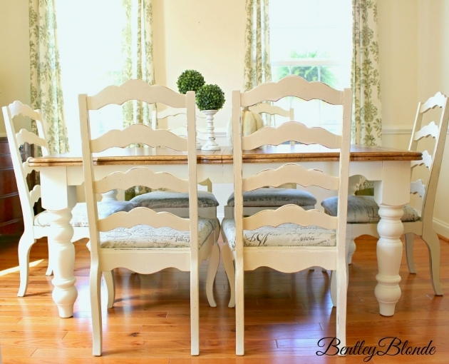 Luxury Chalk Paint Kitchen Table And Chairs Image
