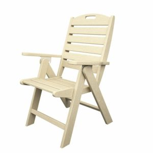High Back Plastic Patio Chairs