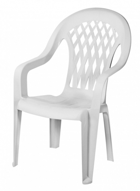 Luxury High Back Plastic Patio Chairs Picture