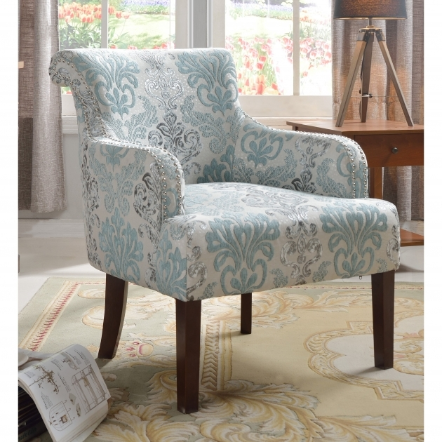 Luxury Light Blue Accent Chairs Images