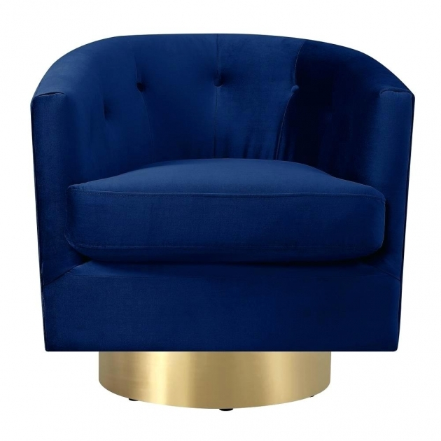 Luxury Navy And White Accent Chair Pics