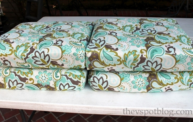 Luxury Recovering Patio Chair Cushions Pics