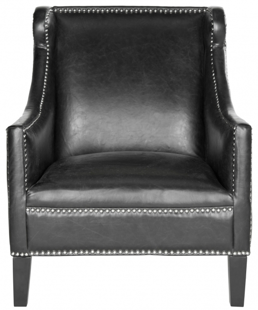 Luxury Small Leather Accent Chairs Picture