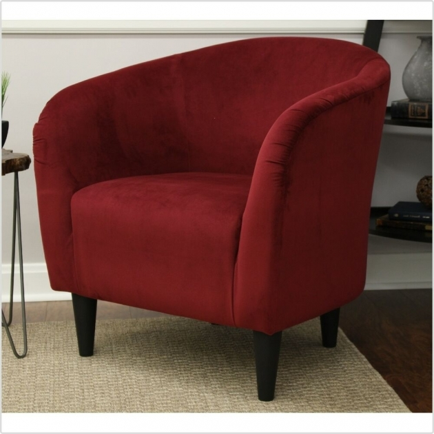 Marvelous Burgundy Accent Chair Pictures