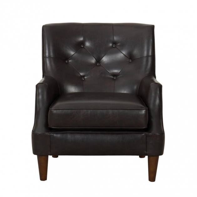 Marvelous Leather Accent Chairs With Arms Photos
