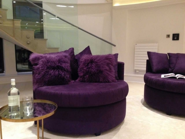 Marvelous Purple Accent Chairs Living Room Photo