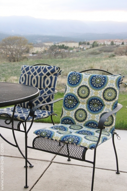 Marvelous Recovering Patio Chair Cushions Pics