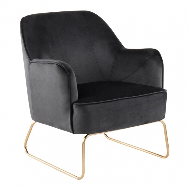 Most Inspiring Black Velvet Accent Chair Pictures