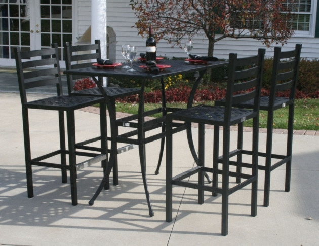 Most Inspiring Patio Tall Table And Chairs Images