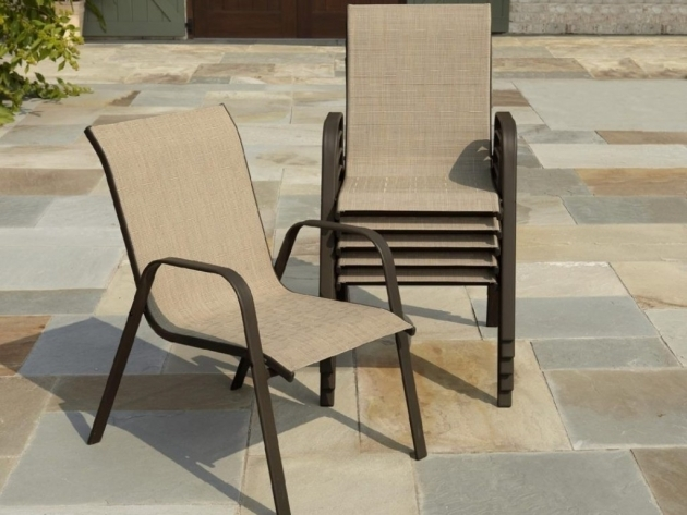 Most Inspiring Stackable Sling Patio Chairs Picture