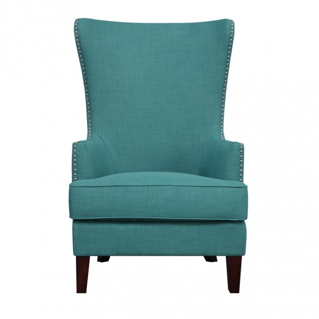 Nice Aqua Accent Chair Photo