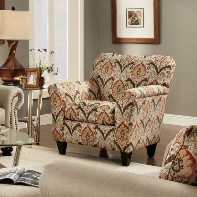 Nice Printed Accent Chairs Pic