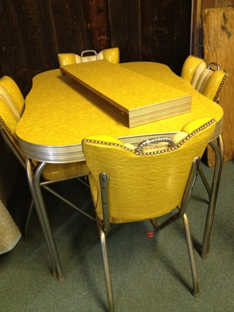 Outstanding 1950S Formica Kitchen Table And Chairs Pic