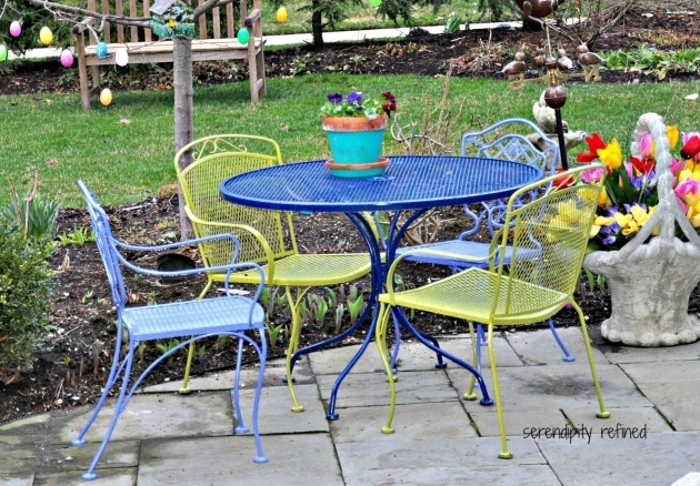 Outstanding Colorful Patio Chairs Pic