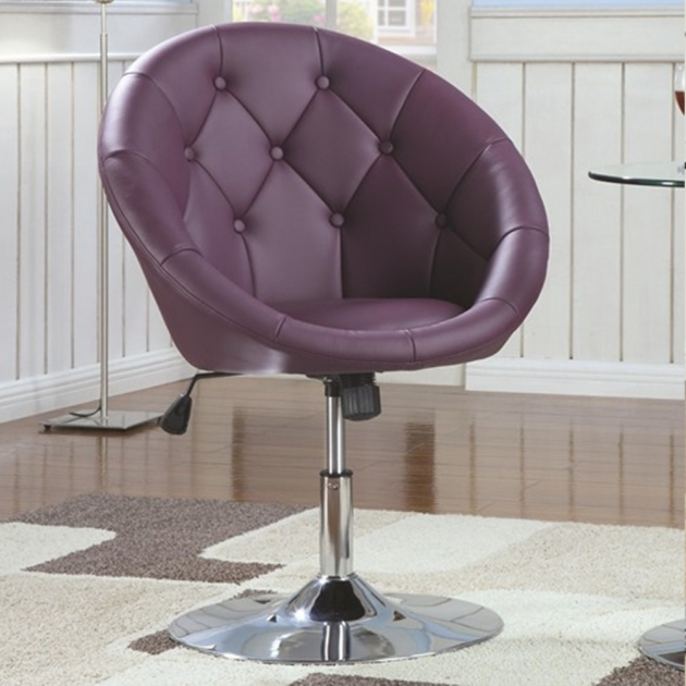 Outstanding Round Swivel Accent Chair Photos